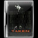 Case, Dvd, Taken Icon
