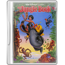 Case, Dvd, Thejunglebook Icon