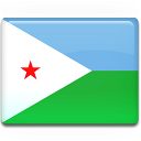 Djibouti, Flag Icon