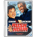 Case, Dvd, Rushhour Icon
