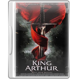 Case, Dvd, Kingarthur Icon
