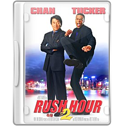 , Case, Dvd, Rushhour Icon
