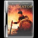Case, Dvd, Gladiator Icon