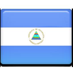 Flag, Nicaragua Icon