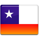 Chile, Flag Icon