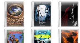 Movie DVD Cases Icons
