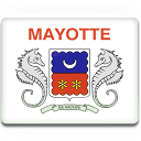 Flag, Mayotte Icon