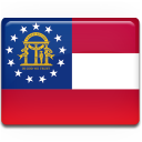 Flag, Georgia Icon