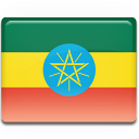 Ethiopia, Flag Icon