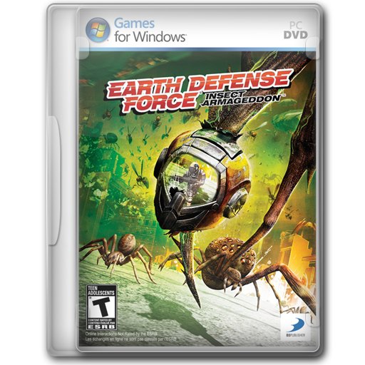 Armageddon, Defense, Earth, Force, Insect Icon