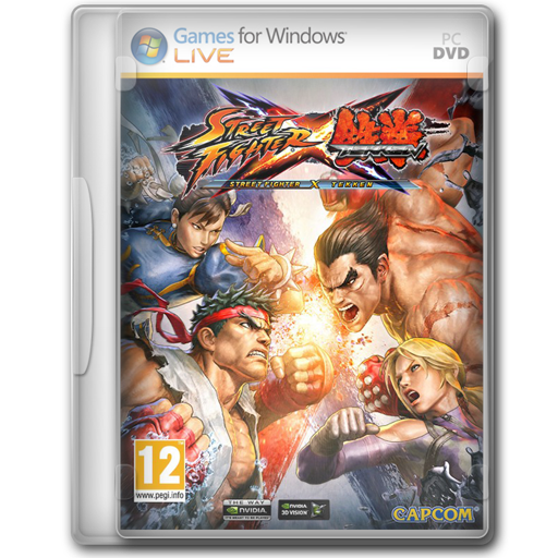 Fighter, Street, Tekken, x Icon