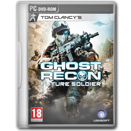 Clancy's, Future, Ghost, Recon, Soldier, Tom Icon