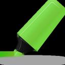 Green, Highlightmarker Icon