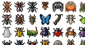 Arthropod Icons