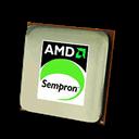 Amd, Cpu, Sempron Icon