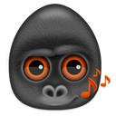 Audio, Monkeys Icon