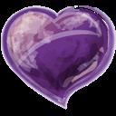 Herz, Violet Icon