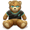 Bear, Brown, Cool!, Gift Icon