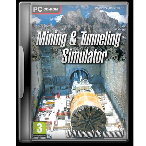 , &Amp, Mining, Simulator, Tunneling Icon