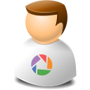 Icontexto, Picasa, User, Web Icon