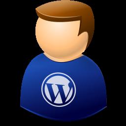 Icontexto, User, Web, Wordpress Icon