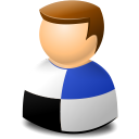 Delicious, Icontexto, User, Web Icon