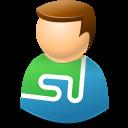 Icontexto, Stumbleupon, User, Web Icon
