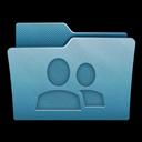 Folder, Mac, Share Icon