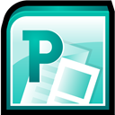 Microsoft, Office, Publisher, Software Icon