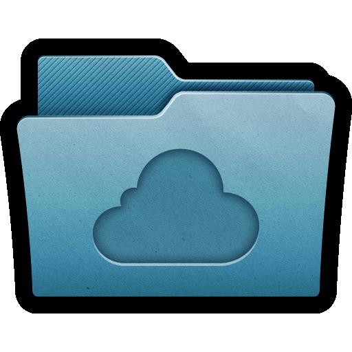 Cloud, Folder, Mac Icon