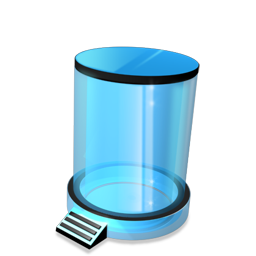 Bin, Empty, Recycle Icon