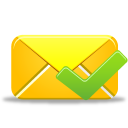 Email, Validated Icon
