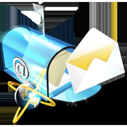 e, Mail Icon
