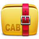 Archive, Cab, Folder, Icon Icon