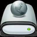 Drive, Icon, Network, Offline Icon