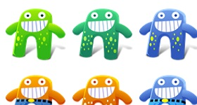 Creature Cutes Icons