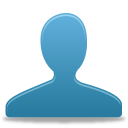 Blue, User Icon
