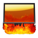 Computer, Hell Icon