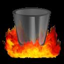 Hell, Trashempty Icon