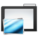 Dark, Folder, Images Icon