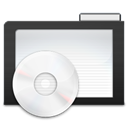 Dark, Folder, Music Icon