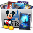 Disney, Folder, Tv Icon