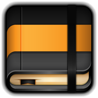 Moleskine, Orange Icon