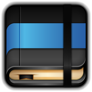 Blue, Moleskine Icon