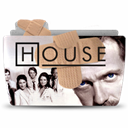 Folder, House, Tv Icon
