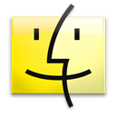 Banana, Finder, Leopard Icon
