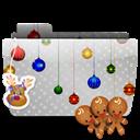 Cookies, Folder, Xmas Icon