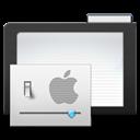 Dark, Folder, Preferences Icon
