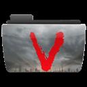 Folder, Tv, v Icon