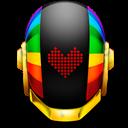 Guyman, Helmet, Love Icon